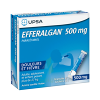 Efferalgan 500 Mg Glé En Sachet Sach/16 à Pau