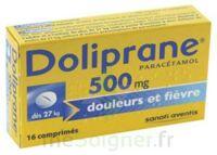 DOLIPRANE 500 mg Comprimés 2plq/8 (16) à Pau