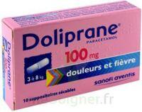 DOLIPRANE 100 mg Suppositoires sécables 2Plq/5 (10) à Pau