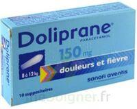 DOLIPRANE 150 mg Suppositoires 2Plq/5 (10) à Pau