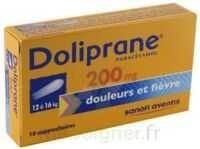 DOLIPRANE 200 mg Suppositoires 2Plq/5 (10) à Pau