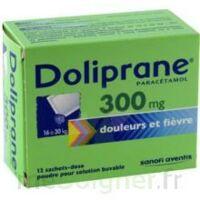 Doliprane 300 Mg Poudre Pour Solution Buvable En Sachet-dose B/12 à Pau