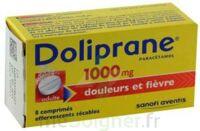DOLIPRANE 1000 mg Comprimés effervescents sécables T/8 à Pau