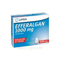 Efferalgan 1000 mg Comprimés pelliculés Plq/8 à Pau