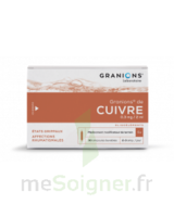 GRANIONS DE CUIVRE 0,3 mg/2 ml S buv 30Amp/2ml à Pau