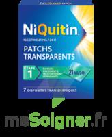 NIQUITIN 21 mg/24 heures, dispositif transdermique Sach/7 à Pau
