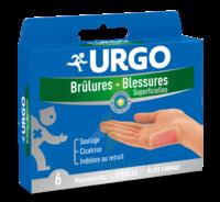 Urgo Brulures-blessures Petit Format X 6 à Pau