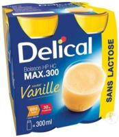 DELICAL MAX 300 SANS LACTOSE, 300 ml x 4 à Pau