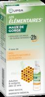 LES ELEMENTAIRES Solution buccale maux de gorge adulte 30ml à Pau