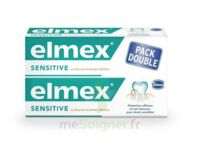 ELMEX SENSITIVE DENTIFRICE, tube 75 ml, pack 2 à Pau