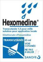 HEXOMEDINE TRANSCUTANEE 1,5 POUR MILLE, solution pour application locale à Pau