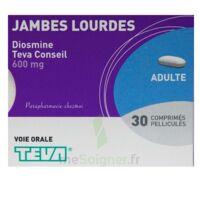 DIOSMINE TEVA CONSEIL 600 mg, comprimé pelliculé à Pau