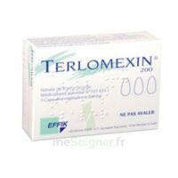 TERLOMEXIN 200 mg, capsule molle vaginale à Pau