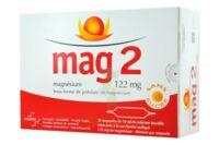 MAG 2 SANS SUCRE 122 mg, solution buvable en ampoule édulcoré à la saccharine sodique à Pau