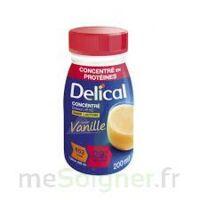 DELICAL BOISSON HP HC CONCENTREE Nutriment vanille 4Bouteilles/200ml à Pau