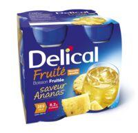 DELICAL BOISSON FRUITEE Nutriment ananas 4Bouteilles/200ml à Pau