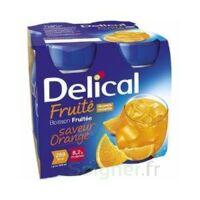 DELICAL BOISSON FRUITEE Nutriment orange 4Bouteilles/200ml à Pau