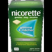 NICORETTE 2 mg Gom à mâcher médic sans sucre menthe fraîche Plq/105gom à Pau