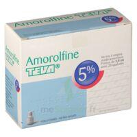 AMOROLFINE TEVA 5 % Vernis ongl médic médicamenteux 1Fl ver/2,5ml+spat à Pau