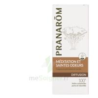 PRANAROM DIFFUSION Huile essentielle pour diffuseur MEDITATION ET SAINTES ODEURS à Pau