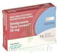 OMEPRAZOLE TEVA CONSEIL 20 mg Gél gastro-rés Plq/14 à Pau