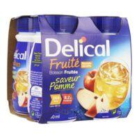 DELICAL BOISSON FRUITEE Nutriment pomme 4Bouteilles/200ml à Pau