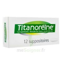 TITANOREINE Suppositoires B/12 à Pau