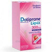 Dolipraneliquiz 300 mg Suspension buvable en sachet sans sucre édulcorée au maltitol liquide et au sorbitol B/12 à Pau