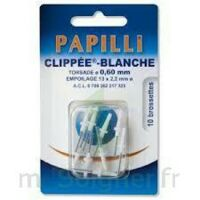PAPILLI - CLIPPEE, blanc, sachet 10 à Pau