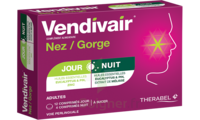 Vendivair Nez/Gorge Comprimés jour et nuit B/12+4 à Pau