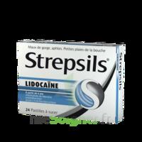 Strepsils lidocaïne Pastilles Plq/24 à Pau