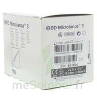 BD MICROLANCE 3, G22 1 1/2, 0,7 m x 40 mm, noir  à Pau