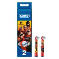 Oral B Incredibles 2 Brossette kids Blister/2 à Pau