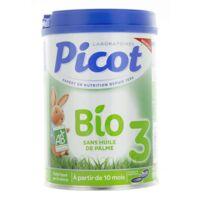 Picot Bio 3 Lait en poudre 800g à Pau