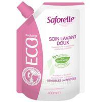 Saforelle Solution soin lavant doux Eco-recharge/400ml à Pau