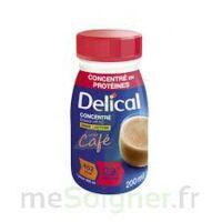 DELICAL BOISSON HP HC CONCENTREE Nutriment café 4Bouteilles/200ml à Pau