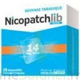 NICOPATCHLIB 14 mg/24 h Dispositifs transdermiques B/28 à Pau
