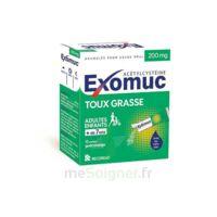 EXOMUC 200 mg glé usage oral en sachet 15 Sachets/2g à Pau