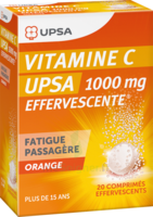 Vitamine C Upsa Effervescente 1000 Mg, Comprimé Effervescent à Pau